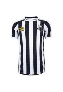 Camisa Umbro Santos Oficial Ii 2021 Masculina