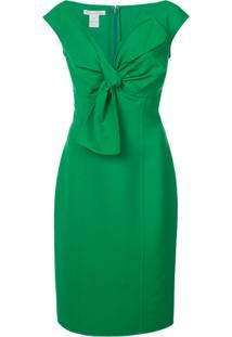 Oscar De La Renta Vestido Sem Mangas - Green