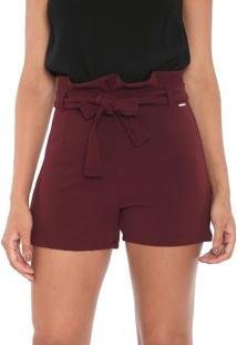 Short Cativa Clochard Vinho