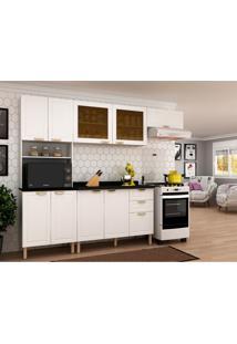 Cozinha Compacta Nevada I 9 Pt 3 Gv Branca