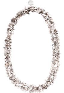 Miu Miu Stars Chain Necklace - Metálico