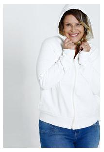 Casaco Feminino Moletom Capuz Plus Size Marisa