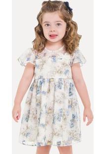 Vestido Infantil Milon Chiffon 11708.0452.3