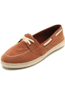 d02ceb498145 Mocassim Caramelo Pesponto feminino | Shoes4you