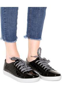 Tênis Dafiti Shoes Matelassê Preto