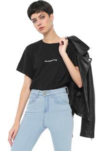 Camiseta Colcci Trendsetter Preta