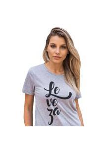 Camiseta Basica My T-Shirt Leveza Mescla