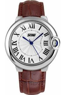 Relógio Skmei Analógico 9088 - Feminino-Marrom