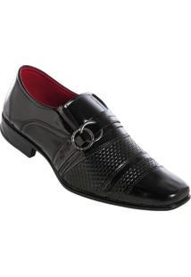 Sapato Social Preto Envernizado
