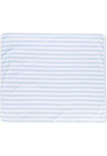 Ralph Lauren Kids Cobertor Listrado - Azul