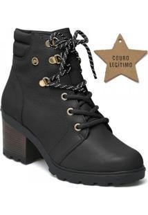 Bota Via Marte Feminina Ankle Boot (Com Brinde)