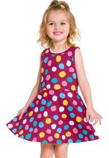Vestido Infantil Kyly Meia Malha 110024.0484.2