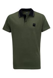Camisa Polo Fatal Estampada 24424 - Masculina - Verde Escuro