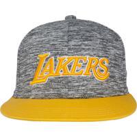 Boné Adidas Originals Nba Sbc Los Angeles Lakers T Cinza 153932ab345