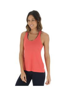 Camiseta Regata Campeão Oxer Jogging New - Feminina - Coral 34e0f650f46