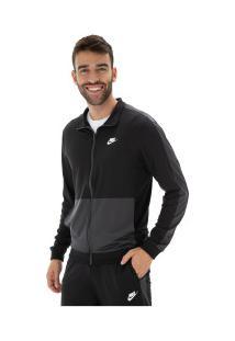Agasalho Nike Trk Suit Pk - Masculino - Preto