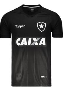 Camisa Topper Botafogo Ii 2018 Preta