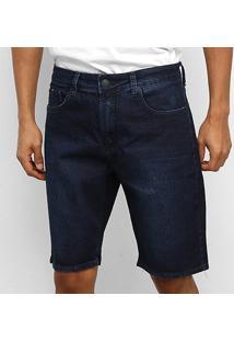 Bermuda Jeans Calvin Klein Lisa Masculina - Masculino-Marinho