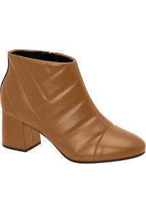 Ankle Boots Feminina Conforto Modare Matelassê Car