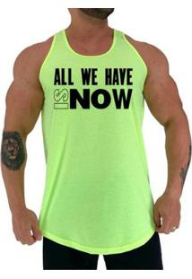 Regata Longline Mxd Conceito All We Have Is Now Masculina - Masculino