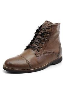 Bota Casual Masculina Shoes Grand 56160/4 Chocolate