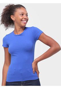 Camiseta Baby Look Malwee Básica Feminina - Feminino