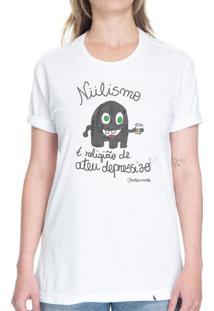 Niilismo - Camiseta Basicona Unissex