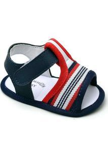 Sandália Top Franca Shoes Infantil - Masculino-Marinho