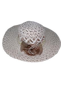 Chapéu De Palha Zohar Ana Branco