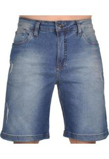 Bermuda Mcd Walk Denim New Slim Core Masculino - Masculino
