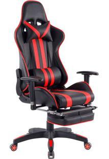 Cadeira Gamer Legends Preta E Vermelha