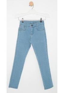 Calça Jeans Infantil Express Bruno Masculina - Masculino-Azul