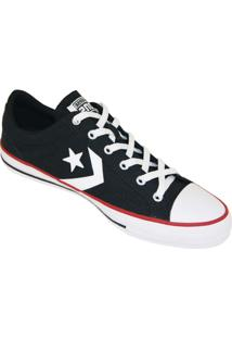 c1f55ccc6be Tênis Converse All Star Player - Masculino-Preto+Branco
