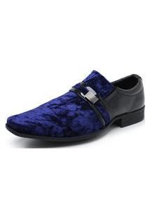 Sapato Social Schiareli 108 Azul
