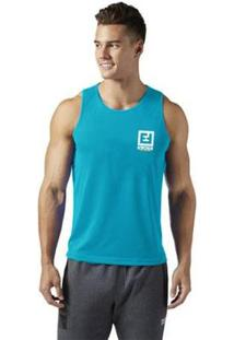 Regata Detreino Enforce Fitness Masculino - Masculino-Azul Claro