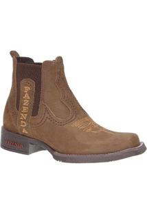 Bota Couro Fazenda Boots 23449 Masculina - Masculino-Marrom