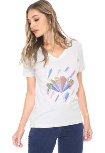 Camiseta Carmim Constellation Cinza
