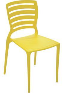Cadeira Sofia Li Amarela