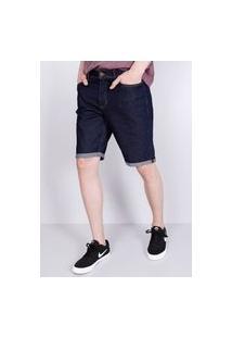 Bermuda Jeans Escuro Gang Masculina