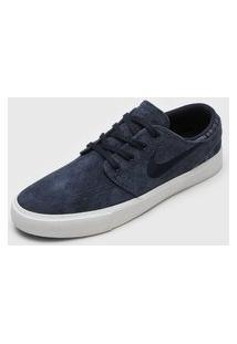 Tênis Nike Sb Zoom Janoski Rm Prm Azul-Marinho