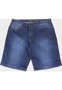 Bermuda Jeans Plus Size Hurley Night Masculina - Masculino-Jeans