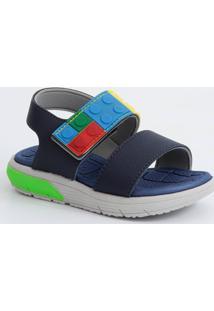 Sandália Infantil Velcro Lego Molekinho