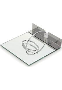 Porta Guardanapos Espelhado 18X18 Cm Slim Forma