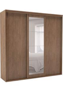 Guarda-Roupa Casal Inovatto I Com Espelho 3 Pt 6 Gv Ébano