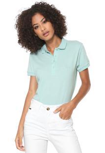 Camisa Pólo Acinturada Ombro feminina  0e4e8afaa35fe