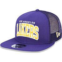 Amazon. Bone 950 Original Fit Los Angeles Lakers Nba Aba Reta Snapback Roxo New  Era e06eb9e9350