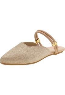 Sapato Infantil Feminino Mule Molekinha - 2534207 Ouro 28