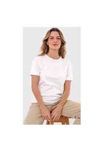 Camiseta Osklen Lisa Off-White