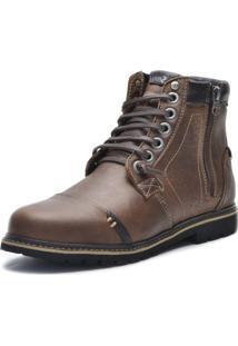Bota Sayle Factor- Fóssil Café Sayle Footwear