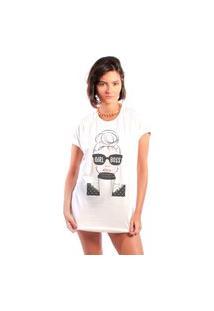 Camiseta Feminina Mirat Girl Boss Branca